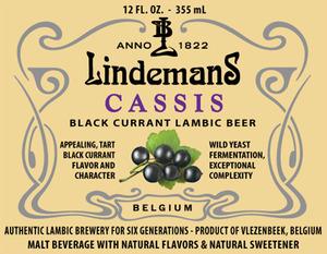 Lindemans Cassis Lambic