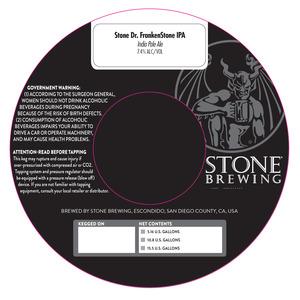 Stone Dr. Frankenstone Ipa