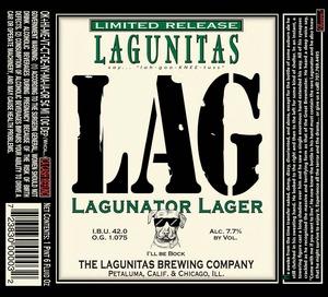 The Lagunitas Brewing Company Lagunator March 2017