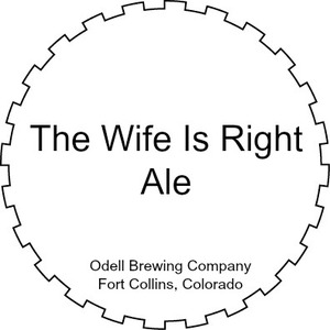 Odell Brewing Company The Wife Is Right Ale