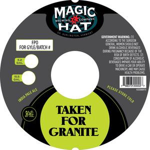 Magic Hat Taken For Granite