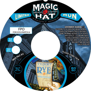 Magic Hat Ticket To Rye India Pale Ale