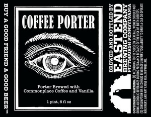 East End Brewing Company Coffee Porter