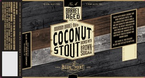 Bourbon Barrel-aged Coconut Stout