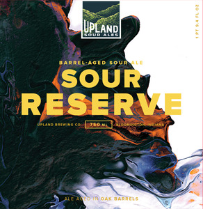 Upland Brewing Company Sour Reserve