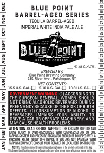 Tequila Barrel-aged Imperial White Ipa