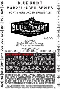 Port Barrel-aged Brown Ale