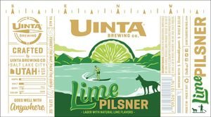 Uinta Brewing Company Lime Pilsner