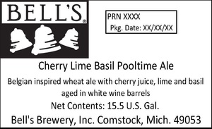 Bell's Cherry Lime Basil Pooltime Ale