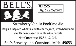 Bell's Strawberry Vanilla Pooltime Ale
