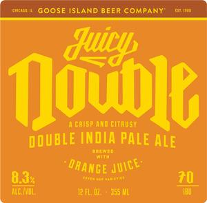 Goose Island Beer Company Juicy Double