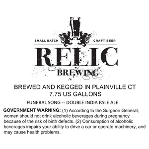 Relic Brewing Funeral Song