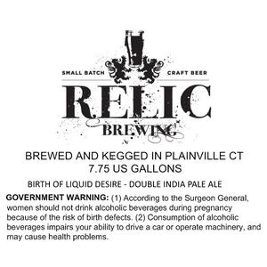 Relic Brewing Birth Of Liquid Desire