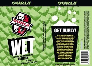 Wet Ultra Fresh Hops Beer