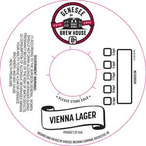 Genesee Brew House Vienna Lager