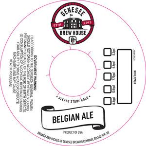 Genesee Brew House Belgian Ale