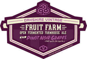 Fruit Farm *farmhouse Ale With Pinot Noir Grapes