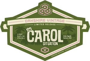 The Carol Situation Oak Aged Saison