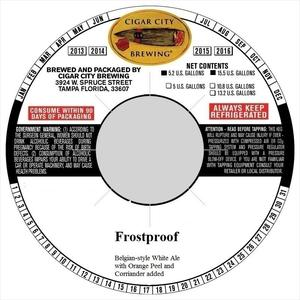 Frostproof