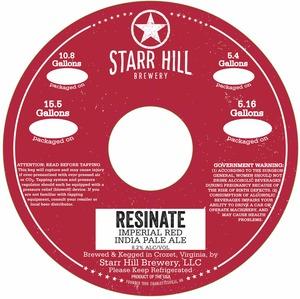 Starr Hill Resinate