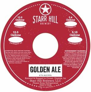 Starr Hill Golden Ale