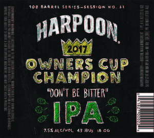 Harpoon Owner's Cup Champion