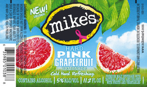 Mike's Hard Pink Grapefruit Lemonade