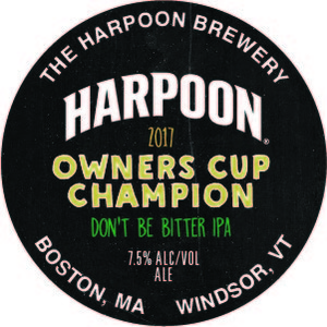 Harpoon Owners Cup Champion