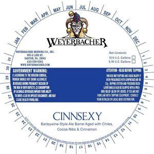 Weyerbacher Cinnsexy