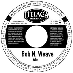 Ithaca Beer Co. Bob N. Weave
