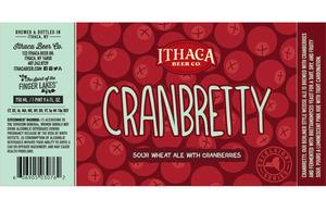 Ithaca Beer Co. Cranbretty