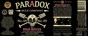 Paradox Beer Company High Biscus