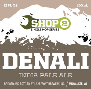 Lakefront Brewery Shop Denali India Pale
