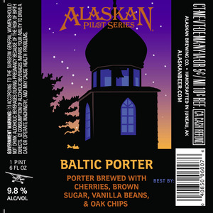 Alaskan Baltic Porter March 2017