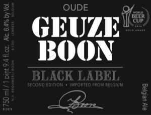 Geuze Boon Black Label