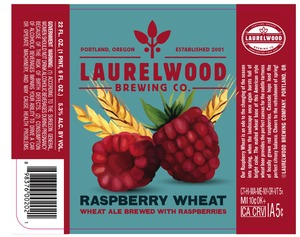Laurelwood Brewing Co. Raspberry Wheat