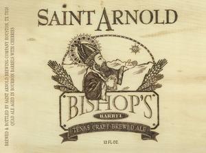 Saint Arnold Brewing Company Bishop's Barrel