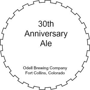 Odell Brewing Company 30th Anniversary Ale
