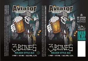 Aviator Brewing Company 3 Bones Kolsch Style Ale