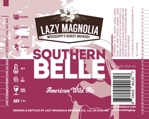Lazy Magnolia Brewing Company Southern Belle