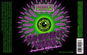 Inherent Weiss Imperial Hefeweizen Ale