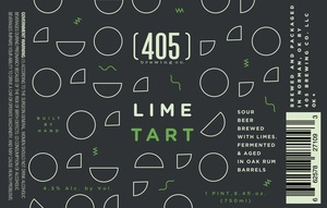 (405) Brewing Co. Lime Tart March 2017