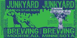 Junkyard Brewing Company Shake-o-matic Blueberry