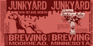 Junkyard Brewing Company Shake-o-matic Cherry