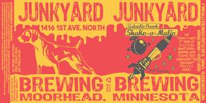 Junkyard Brewing Company Shake-o-matic Galactic Peach