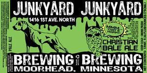 Junkyard Brewing Company Christian Bale Ale