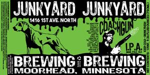 Junkyard Brewing Company Coachgun IPA