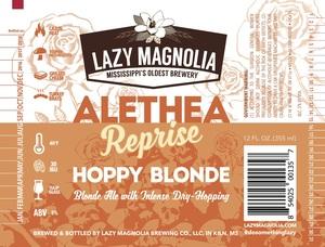 Lazy Magnolia Brewing Company Alethea Reprise