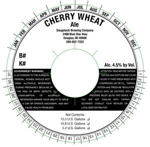 Saugatuck Brewing Company Cherry Wheat