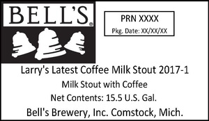 Bell's Larry's Latest Coffee Milk Stout